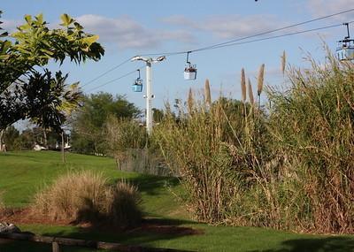 The Skylift at Bush Gardens