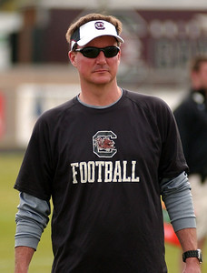 December 28, 2012 South Carolina Gamecocks Outback Bowl Practice
