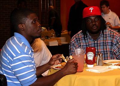 Moe Brown and Pierre Andrews