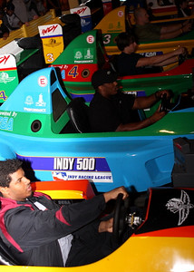 Shaq Wilson, Gerrod Sinclair race in the Indy 500