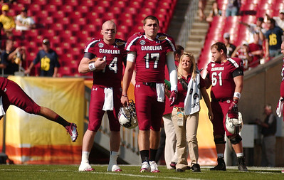 January 1, 2013 Outback Bowl South Carolina Gamecocks 33, Michigan Wolverines 28 Raymond James Stadium Tampa, Fla