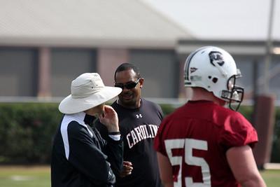 Coach Johnson and coach Ward
