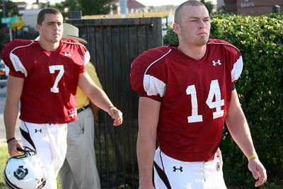 Dylan Thompson and Connor Shaw