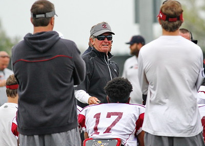 South Carolina Gamecocks Football Spring Practice