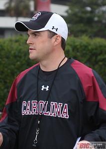 Coach Shane Beamer