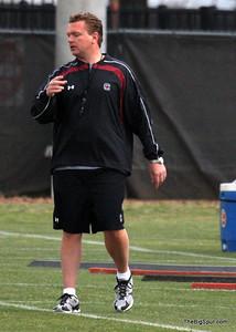 OL Coach Eric Wolford