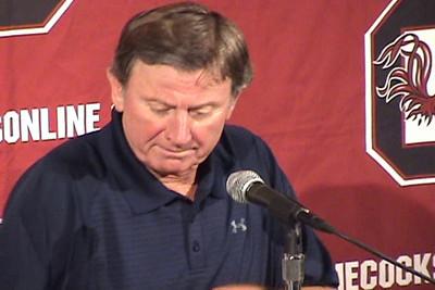 spurrier press conference 1