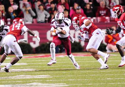 November 5, 2011 South Carolina Gamecocks 28, Arkansas Razorbacks  44