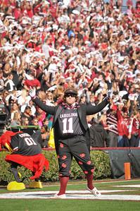 South Carolina Gamecocks 41, Citadel Bulldogs 20 Williams-Brice Stadium November 19, 2011