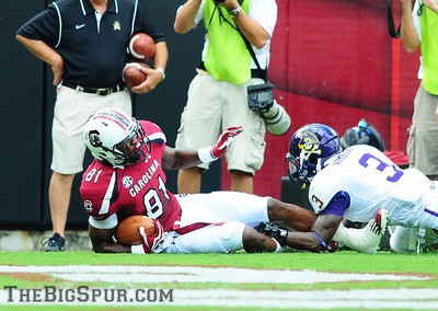 September 8, 2012 South Carolina Gamecocks 48, East Carolina Pirates 10