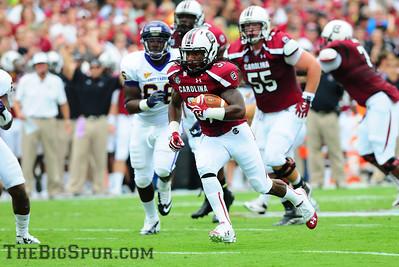 September 8, 2012 South Carolina Gamecocks 48, East Carolina Pirates 10