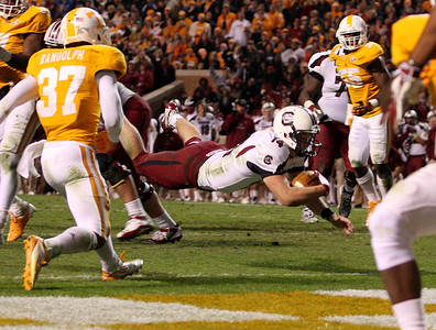 Connor Shaw October 29, 2011 South Carolina 14, Tennessee 3 at Neyland Stadium in Knoxville, Tenn.
