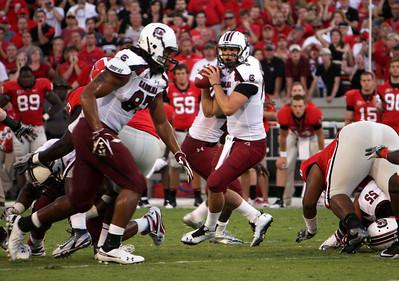 September 10, 2011 South Carolina Gamecocks 45, Georgia Bulldogs 42