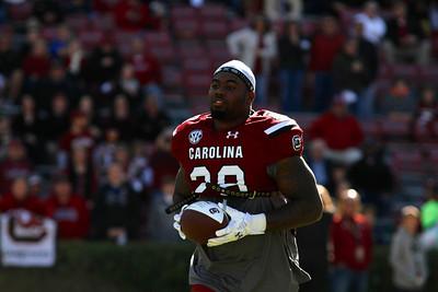 November 22, 2014 South Carolina Gamecocks 37, South Alabama Jaguars 12 at Williams-Brice Stadium in Columbia, SC