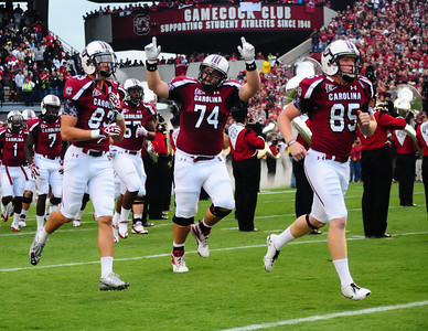 September 17, 2011 South Carolina Gamecocks 24, Navy 21 at Williams-Brice Stadium in Columbia, SC