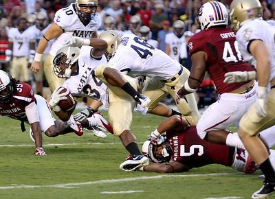 September 17, 2011 South Carolina Gamecocks 24, Navy 21 at Williams-Brice Stadium in Columbia, SC