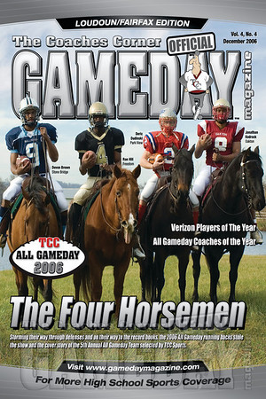 Gameday Magazine Features