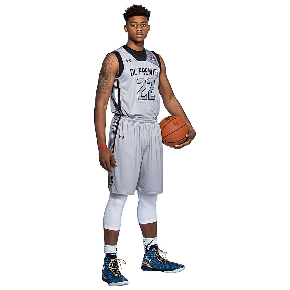 NEW YORK, NY - April 17, 2016: Player Portraits from UAA tournament at Basketball City in New York City. (Photo by Emilee Ramsier/Under Armour)
