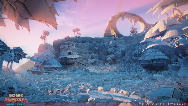 Sonic Boom: Rise of Lyric - GDC 2013 Teaser (Lighting)