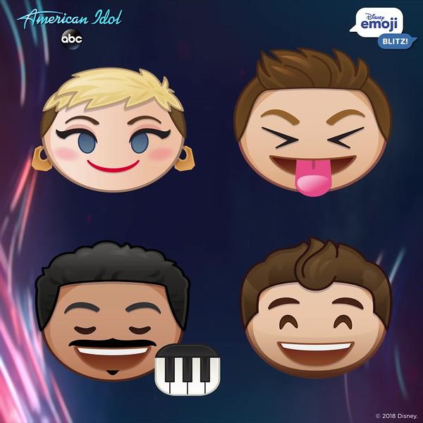 American Idol Disney Emoji GIF 1