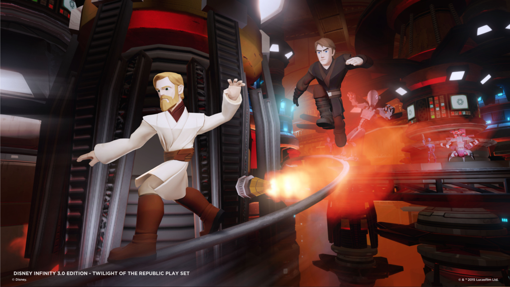 Details on STAR WARS: TWILIGHT OF THE REPUBLIC Play Set for Disney Infinity 3.0