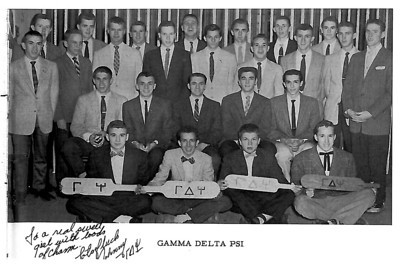 Gamma Delta Psi Photo 1958