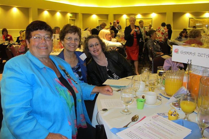 Suzanne, Irene, Karen President