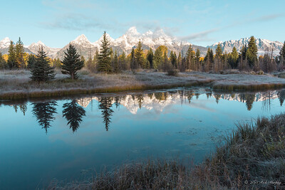 Mirror Mirror on the wall. Teton National Park
