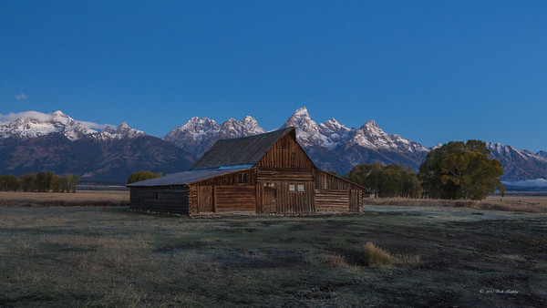 Sunrise On The Teton's