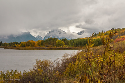 Oxbow Bend. Teton National Park