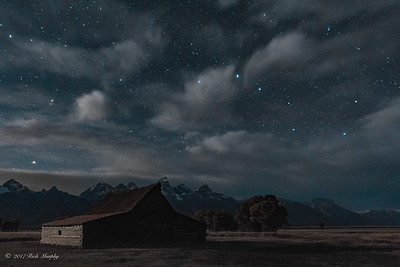 Big Dipper Over the Teton's