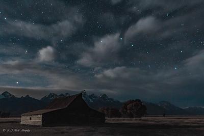 Big Dipper Over the Teton's
