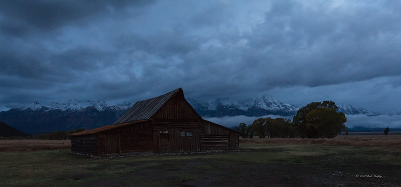 Winter Blowing In, Teton National Park