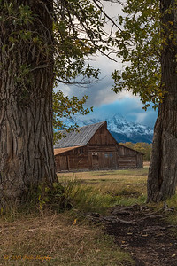 Moulton Barn. Teton National Park