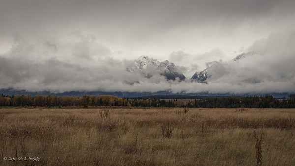 First Taste of Winter. Teton National Park