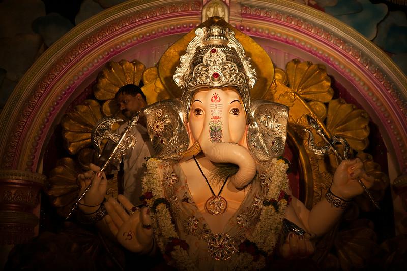 Ganesh festival in Pune, India