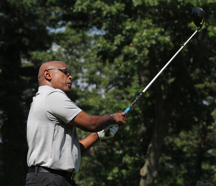 Lynn, Ma. 9-17-17. Jay Jayawardena in first place at the time this shot was teken at the GC gold Classic at Gannon Golf Club.