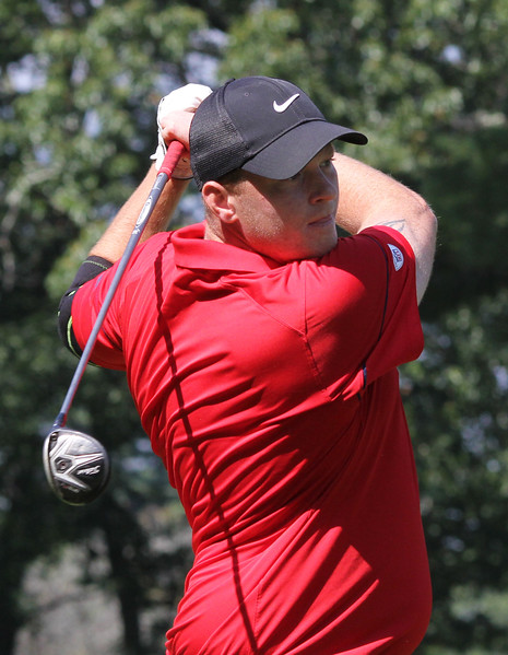 Lyknn, Ma. 9-17-17. Rob Thomas was tied for second place when this shot was taken at the GC Gold Classic at Gannon Golf Club.