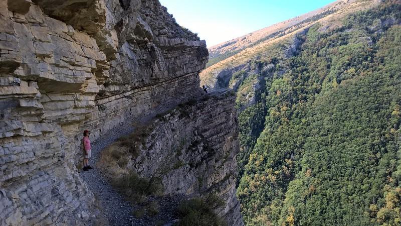 Sentier des Bans près de Rabou