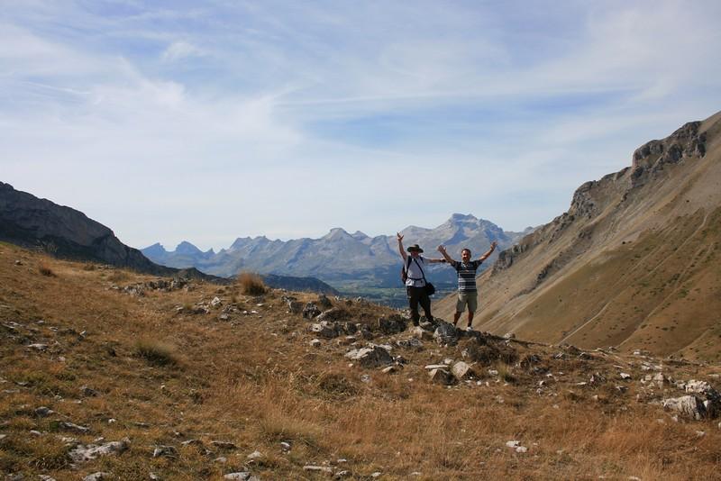 Col du Noyer, Ascension de la Tête du Tourneau