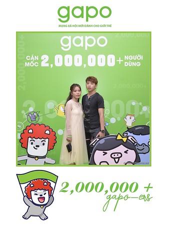 Gapo.vn | 2M+ users milestone celebration @ Melia Hanoi | Chụp ảnh lấp ngay Sự kiện | Photobooth Hanoi