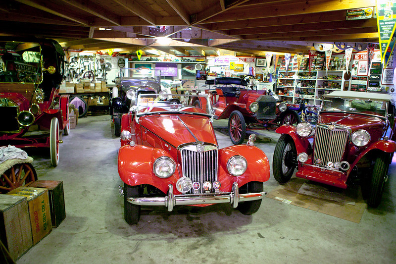 6-01<br /> Robert Wirth is an architect from southern Wisconsin with a penchant for MGs and early Fords. His garage is a cornucopia of nicely-restored machines and endless shelves, drawers and walls draped with interesting parts and bits.