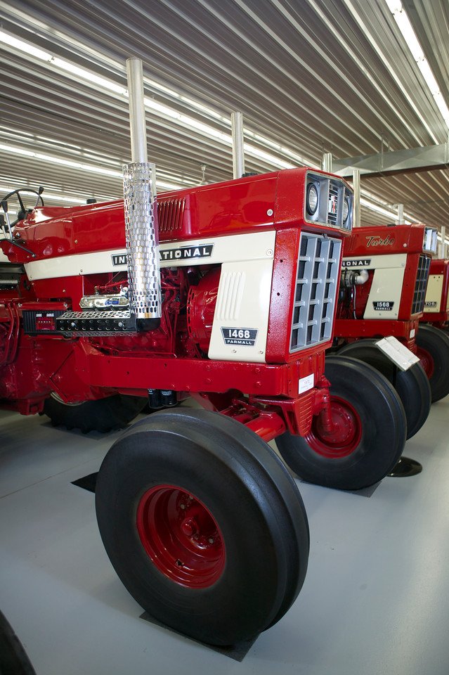 1-9<br /> Mez has a large number of machines from the 1960s and 1970s, including these V-8-powered machines, a 1468 and 1568.