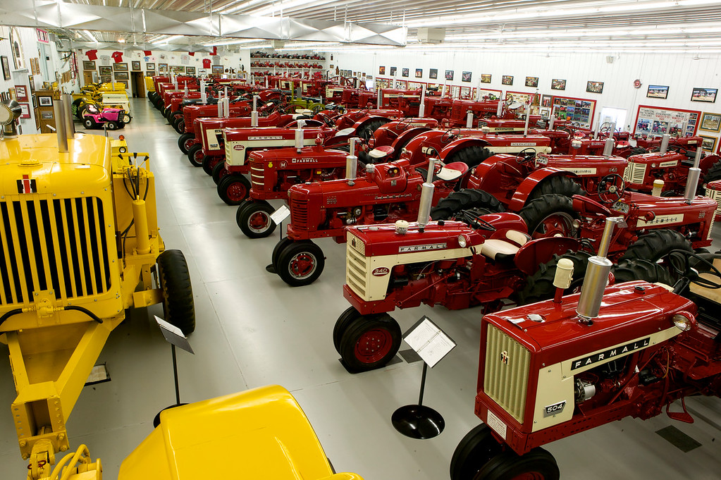 1-11<br /> The scope and quantity of the machines in this collection are nearly unrivaled in the world of IHC tractor collecting. Serious enthusiasts can spend several days in the facility.