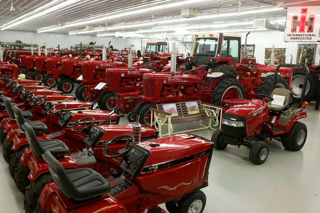 1-20<br /> This 72x130-foot back room was built in 2009 to accommodate about 50 tractors and hundreds of pieces of memorabilia.