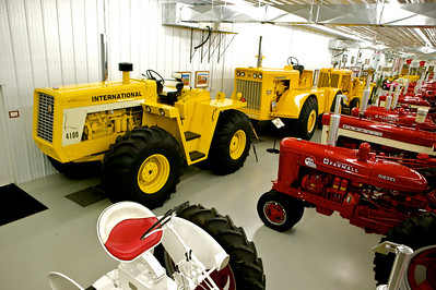 1-12 The 4100 and 1962 4300 are two rare machines in the collection. The 4300 is one of 36 built, and is powered by an 817-cubic-inch 200-horsepower engine.