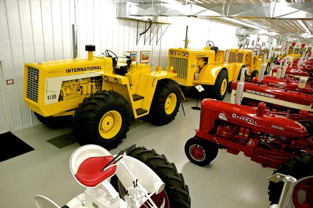 1-12<br /> The 4100 and 1962 4300 are two rare machines in the collection. The 4300 is one of 36 built, and is powered by an 817-cubic-inch 200-horsepower engine.