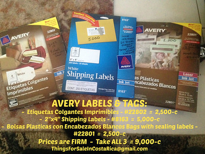OFFICE - Avery Labels & Tags