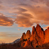 """Sentinels of Dawn"" - Garden of the Gods, Colorado Springs, CO"