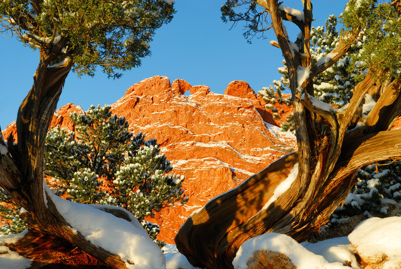 The Kissing Camels at Garden of the Gods, Colorado Springs, CO